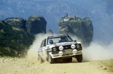 Ari Vatanen, Ford Escort RS1800 MkII, 1981 Acropolis Rally