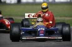 Nigel Mansell & Ayrton Senna, 1991 British Grand Prix