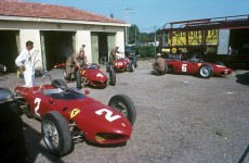 Sharknose Ferraris, 1962 Italian Grand Prix