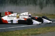 Ayrton Senna & Alain Prost, 1989 Japanese Grand Prix