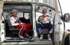 Sébastien Loeb & Sébastien Ogier, 2010 Rallye de France