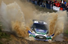 Petter Solberg, Ford Fiesta WRC, 2012 Rally of Portugal