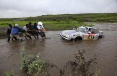 Berhard Kessel, Porsche 911, 2011 East African Classic Safari