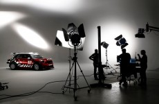 MINI WRC Studio shoot, England, 2011