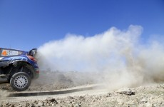 Petter Solberg, Ford Fiesta WRC, 2012 Rally Mexico